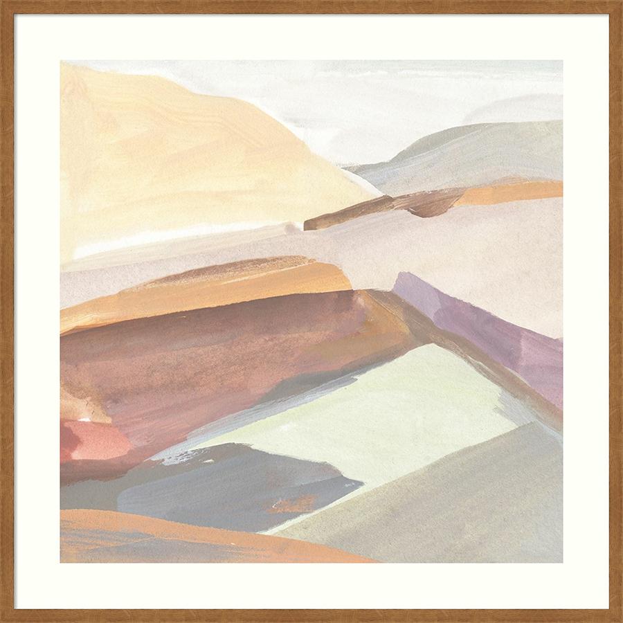 Abstract landscape art