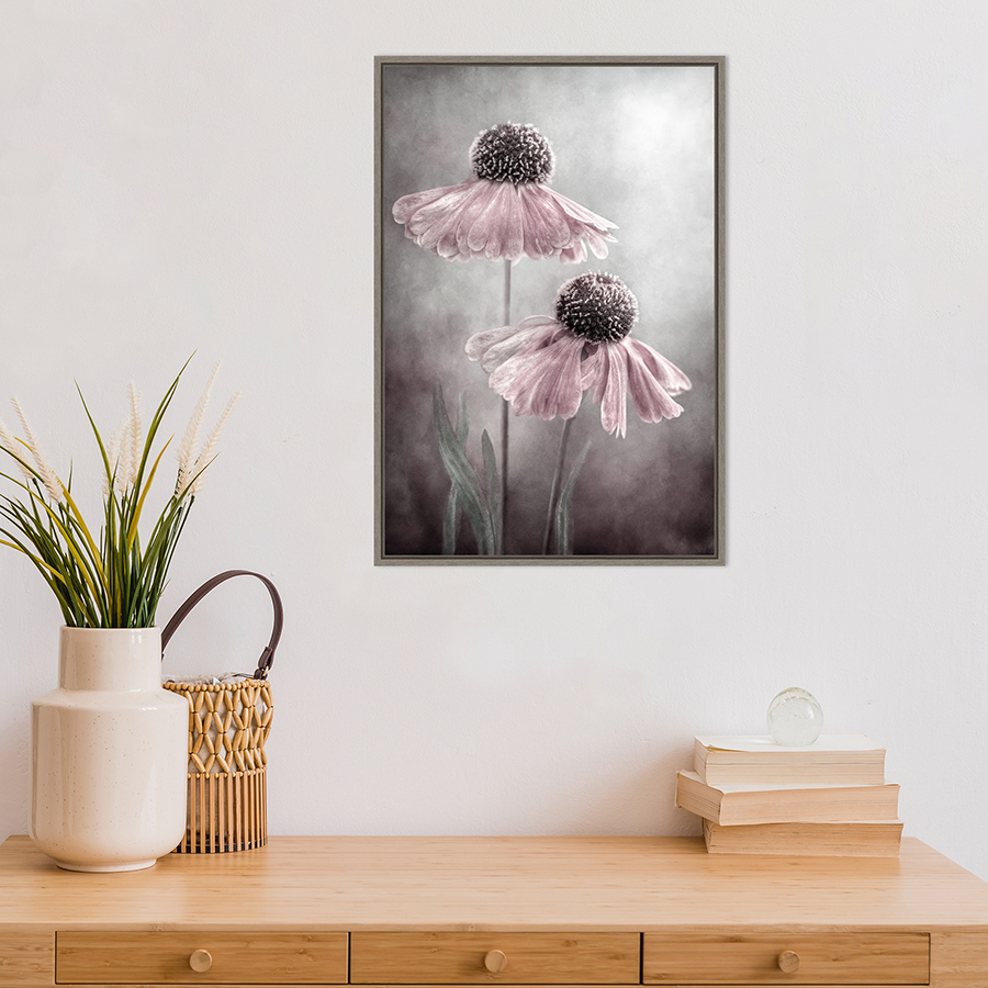 Soft pastel picture of flowers