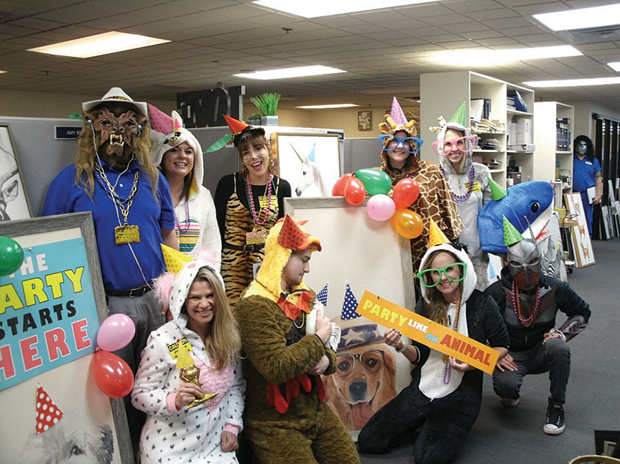 Office halloween party